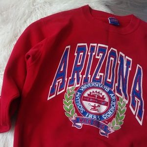 [[ vintage ]] University of Arizona Seal Sweatshir